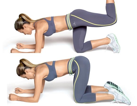 exercicios para o bumbum 4 apoios