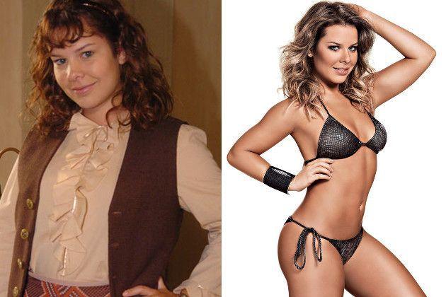 Antes e depois de emagrecer Fernanda Souza