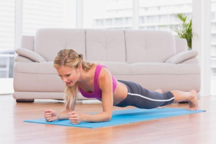 plank exercício prancha